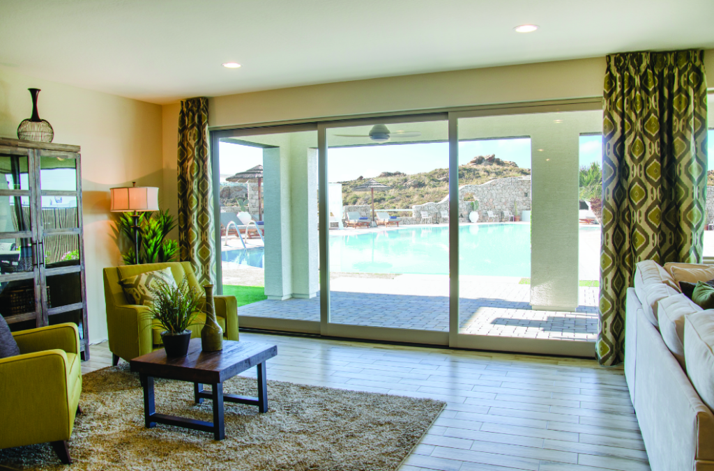 Multi-slide doors