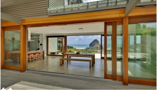 Lift and slide doors
