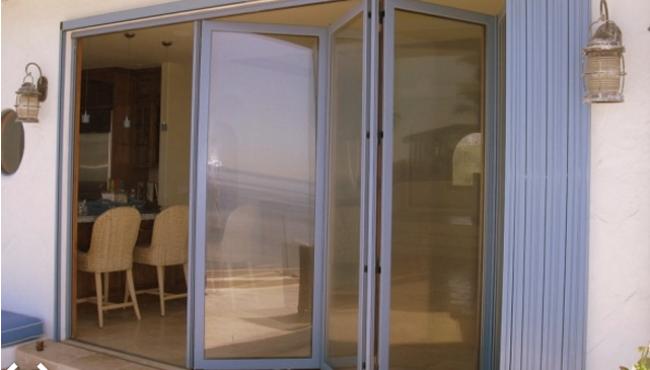 exterior folding doors