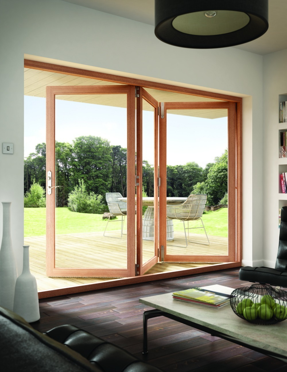 Folding doors utah rocky mountain windows doors for Interior and exterior doors