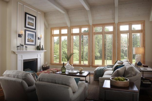 wood-clad windows ideal Utah
