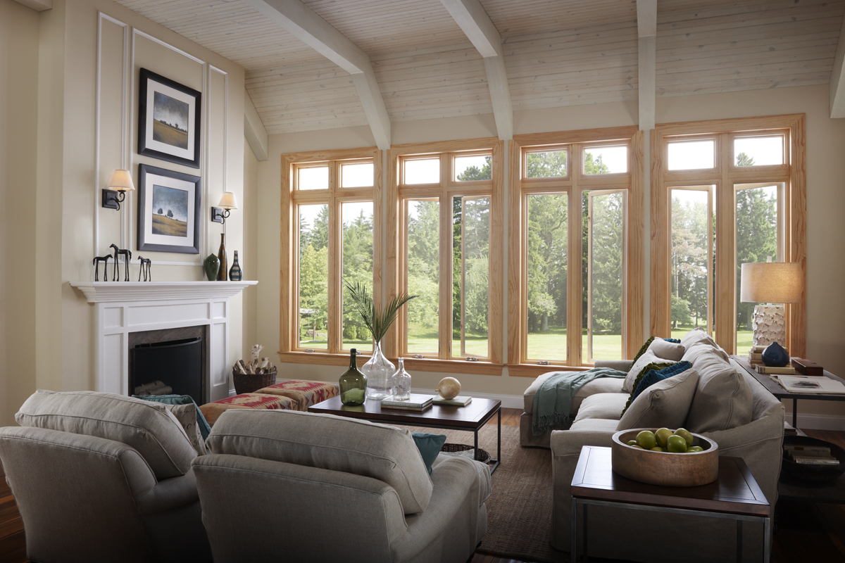 Wood Clad Windows : Wood clad windows utah rocky mountain doors