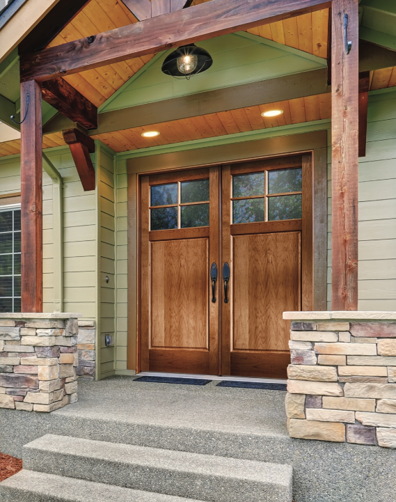 exterior doors with windows in orem utah