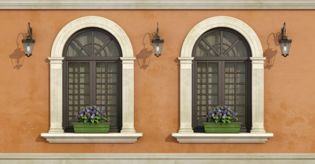 Arched and radius windows for Utah homes